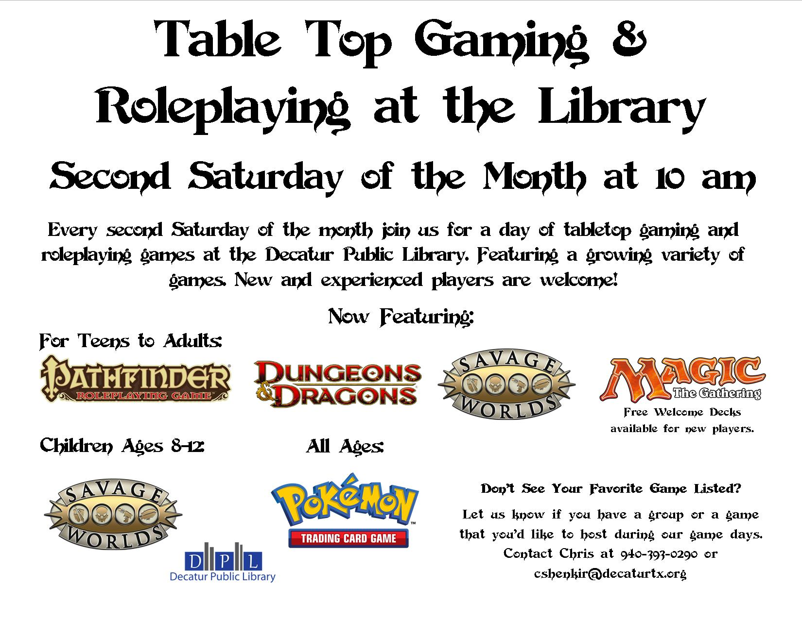 Gaming Flyer
