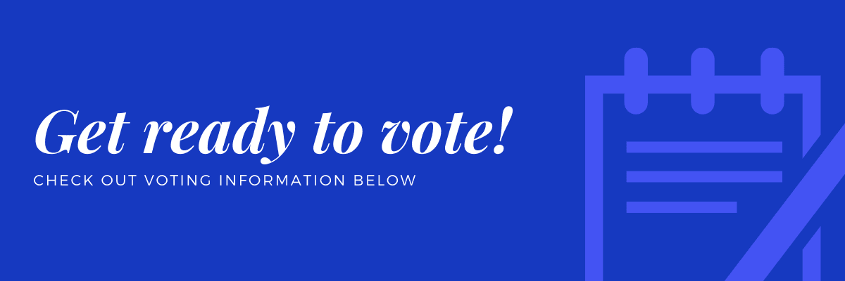 Get ready to vote!